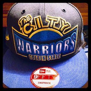 "New Era Warriors ""The City"" SnapBack hat"